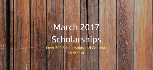 March 2017 Scholarships | JLV College Counseling Blog