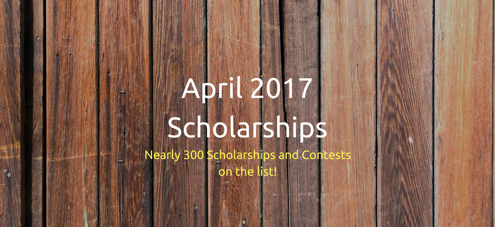 April 2017 Scholarships | JLV College Counseling Blog