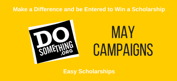 May 2021 DoSomething Scholarships | JLV College Counseling Blog