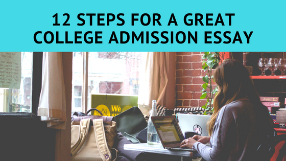 great college application essay College admissions officers read thousands of college application essays how to write a great college application essay title.