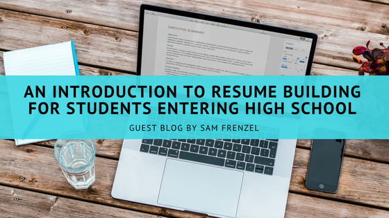 an introduction to resume building for students entering